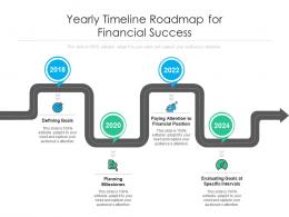 Yearly Timeline Roadmap For Financial Success