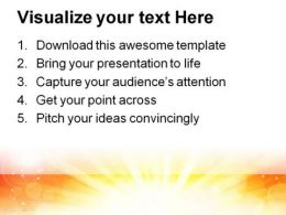 Yellow Light Abstract PowerPoint Template 0910  Presentation Themes and Graphics Slide03