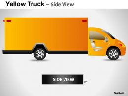 yellow_truck_side_view_powerpoint_presentation_slides_Slide02