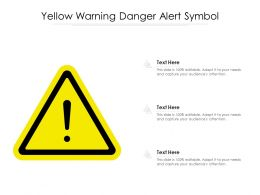 Yellow Warning Danger Alert Symbol