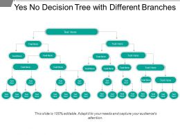 Yes No Decision Tree With Different Branches
