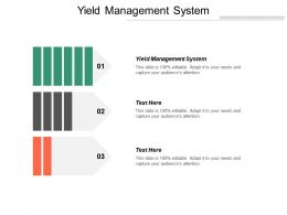 Yield Management System Ppt Powerpoint Presentation Inspiration Structure Cpb