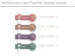Yield Performance Layout Powerpoint Templates Download