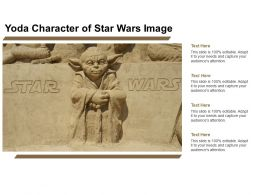 Yoda Character Of Star Wars Image