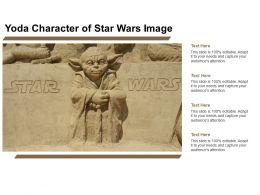 Yoda Character Of Star Wars Image