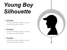 Young Boy Silhouette Powerpoint Ideas