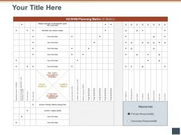 Your Title Here Priorities M1128 Ppt Powerpoint Presentation Professional Guidelines