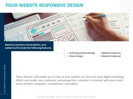 Your Website Responsive Design Ppt Powerpoint Presentation Icon Inspiration