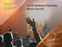Youth Audience Enjoying Music Concert