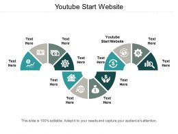 Youtube Start Website Ppt Powerpoint Presentation Icon Styles Cpb