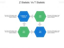 Z Statistic Vs T Statistic Ppt Powerpoint Presentation Slides Shapes Cpb