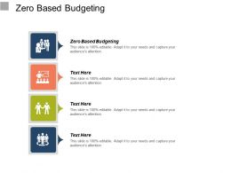 Zero Based Budgeting Ppt Powerpoint Presentation Outline Inspiration Cpb
