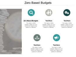 Zero Based Budgets Ppt Powerpoint Presentation Outline Example Introduction Cpb