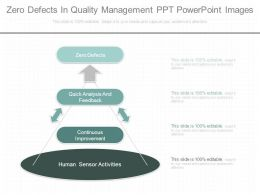 Zero Defects In Quality Management Ppt Powerpoint Images
