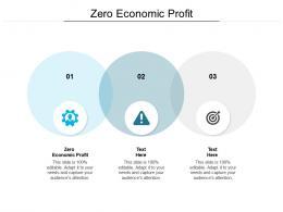 Zero Economic Profit Ppt Powerpoint Presentation Model Demonstration Cpb