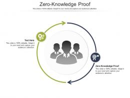 Zero Knowledge Proof Ppt Powerpoint Presentation Summary Clipart Images Cpb
