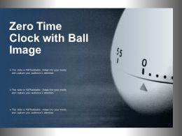 Zero Time Clock With Ball Image