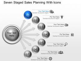 Zi Seven Staged Sales Planning With Icons Powerpoint Template