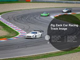 Zig Zack Car Racing Track Image