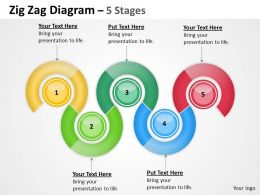 Zig Zag Diagram 5 Stages 7