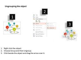 Zigzag Path Infographic Timeline Diagram Flat Powerpoint Design