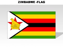 Zimbabwe Country Powerpoint Flags