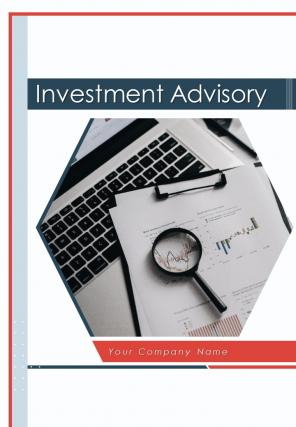 A4 Investment Advisory Proposal Template