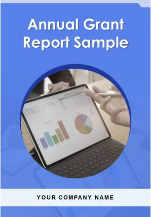 Annual Grant Report Sample PDF DOC PPT Document Report Template