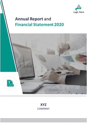 Annual Report And Financial Statement PDF DOC PPT Document Report Template