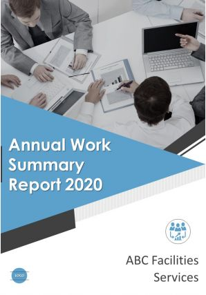 Annual Work Summary Report PDF DOC PPT Document Report Template