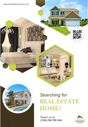 Apartment Complex For Sale Four Page Brochure Template