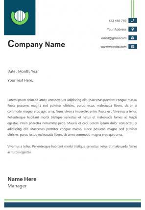 Automotive Industry Letterhead Design Template