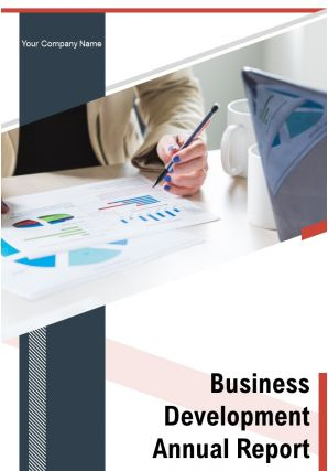 Business Development Annual Report PDF DOC PPT Document Report Template
