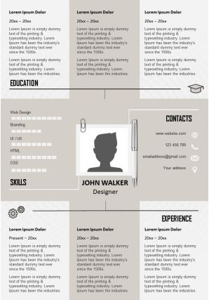 Creative Designer Resume Template To Get Noticed