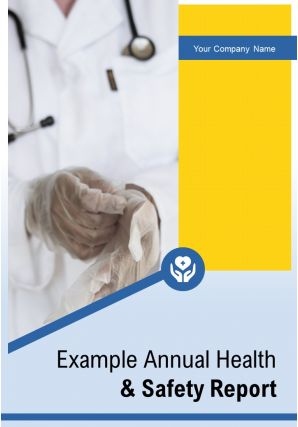 Example Annual Health And Safety Report PDF DOC PPT Document Report Template