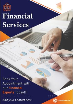 Financial Planner Four Page Brochure Template