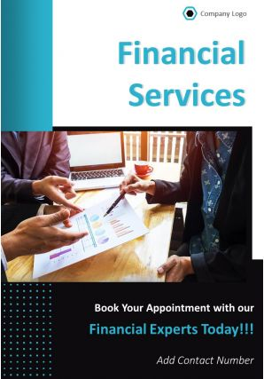 Financial Planning Services Four Page Brochure Template