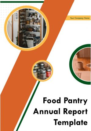 Food Pantry Annual Report Template PDF DOC PPT Document Report Template