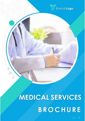 Healthcare Marketing Four Page Brochure Design Template