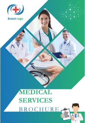 Healthcare Marketing Four Page Brochure Template