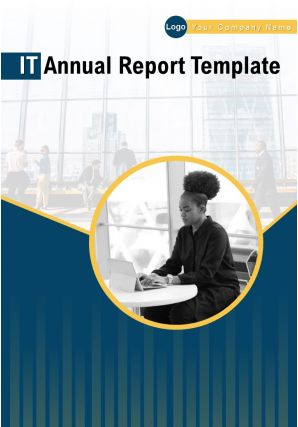 IT Annual Report Template PDF DOC PPT Document Report Template
