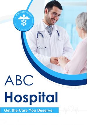 Medical And Healthcare Flyer Two Page Brochure Template