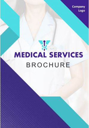 Medical Marketing Four Page Brochure Template