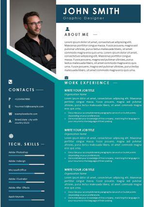 Sample Curriculum Vitae Template With Career Achievements