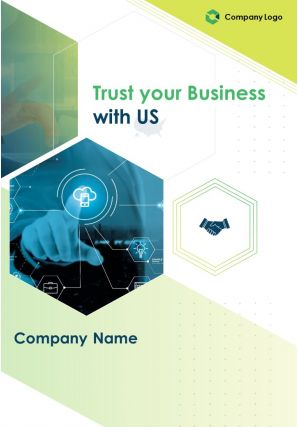 Two Page IT Consulting Brochure Template
