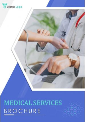 Two Page Medical Services Brochure Template