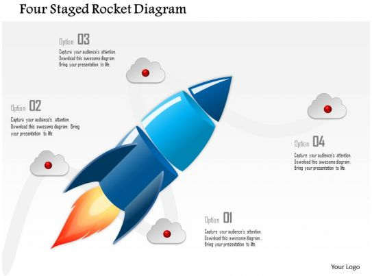 0115 four staged rocket diagram powerpoint template. Black Bedroom Furniture Sets. Home Design Ideas