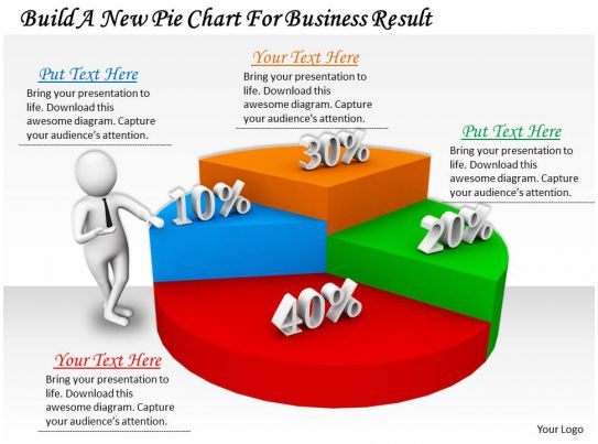 0214 build a new pie chart for business result ppt graphics icons