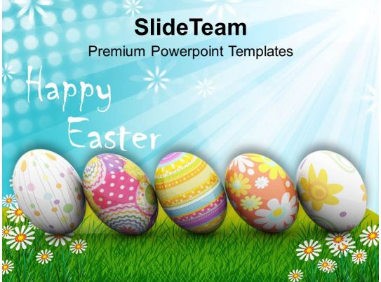 Origin Of Spring New Life Happy Easter Powerpoint Templates