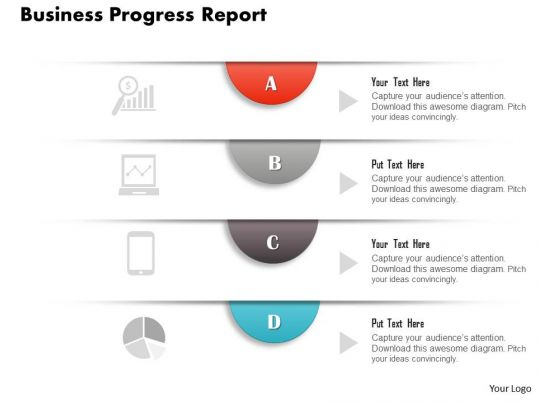 business report template ppt latin